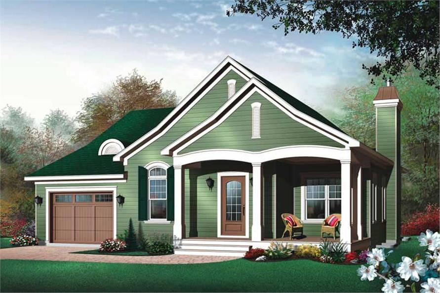 Main image for house plan # 11406