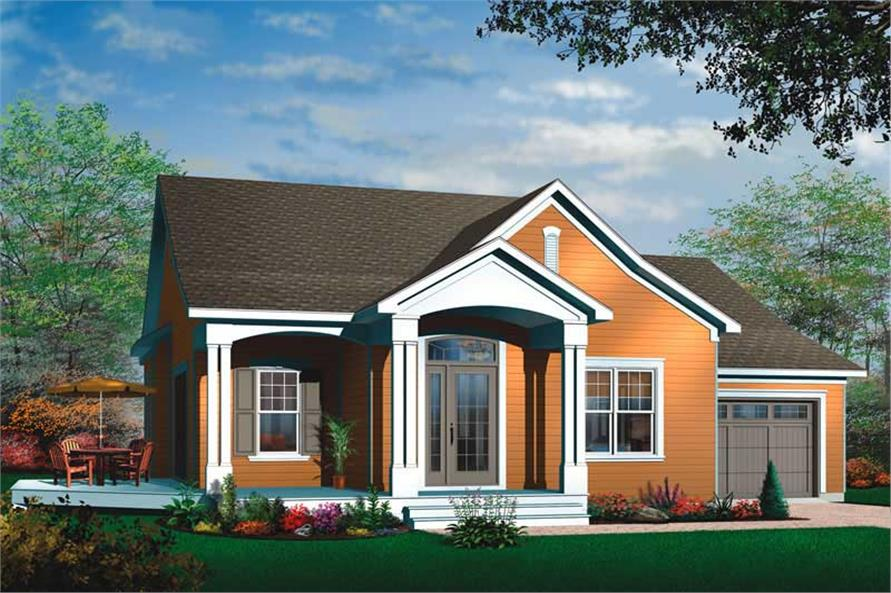 Main image for house plan # 11404