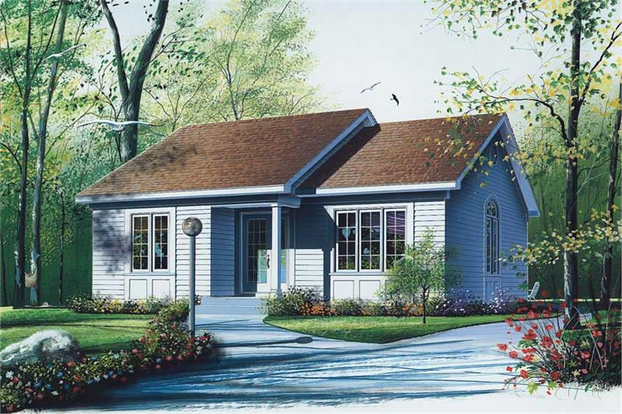 Main image for house plan # 12362