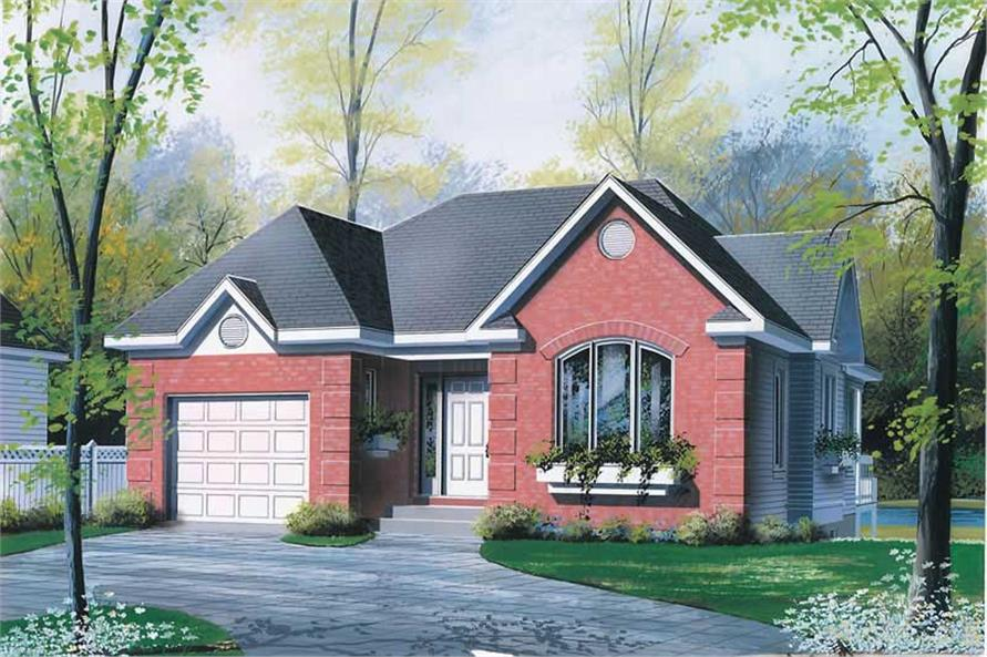 Main image for house plan # 12378