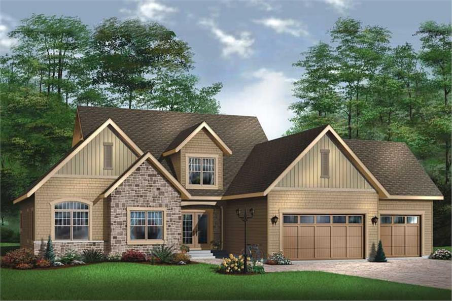 Main image for house plan # 11382