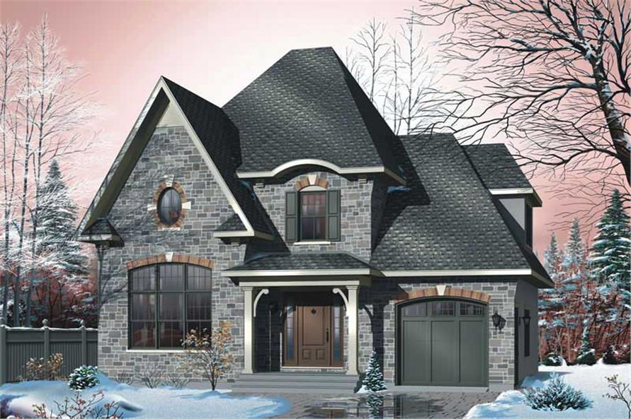 Main image for house plan # 11380