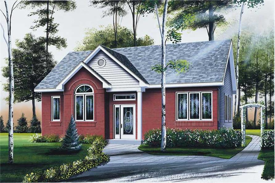 Main image for house plan # 12401