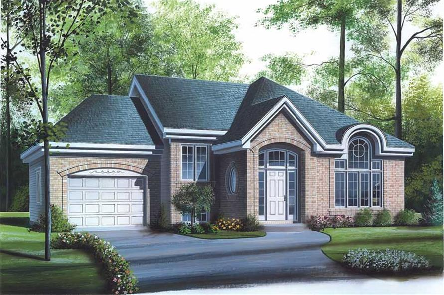 Main image for house plan # 12715