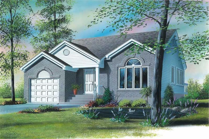 Main image for house plan # 12701