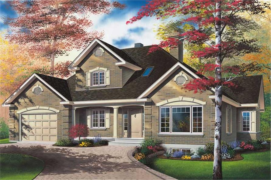 Main image for house plan # 12790