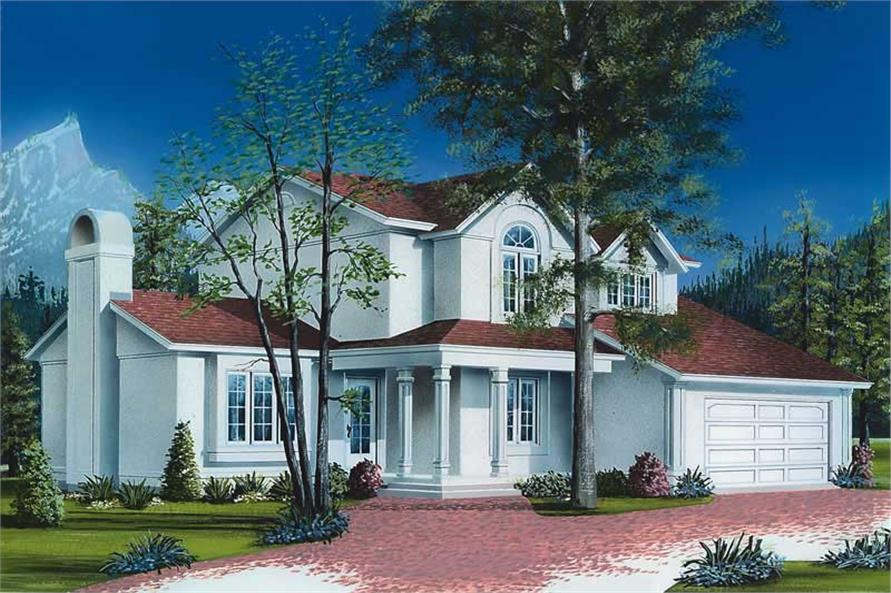 Main image for house plan # 12808