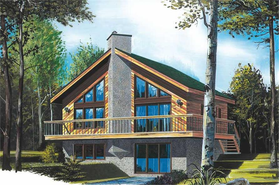 Main image for house plan # 11363