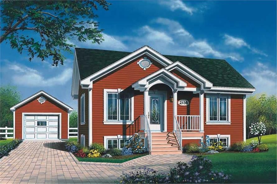 Main image for house plan # 11351