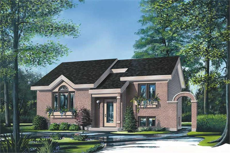 Main image for house plan # 12404
