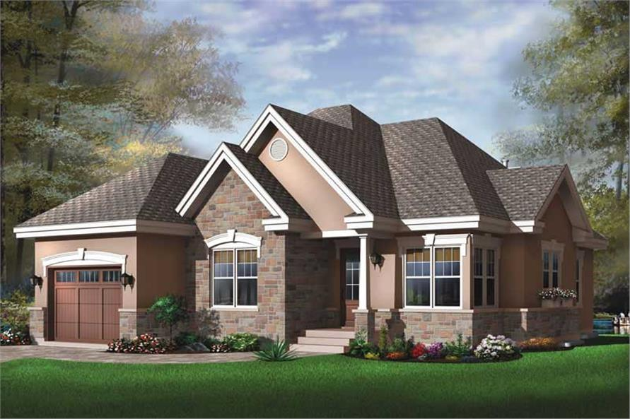 Main image for house plan # 11411