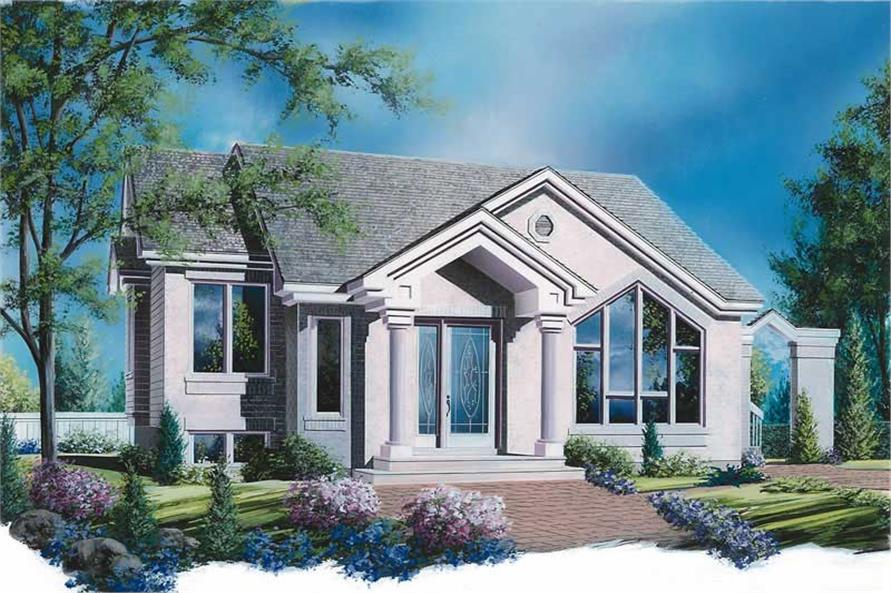 Main image for house plan # 12400