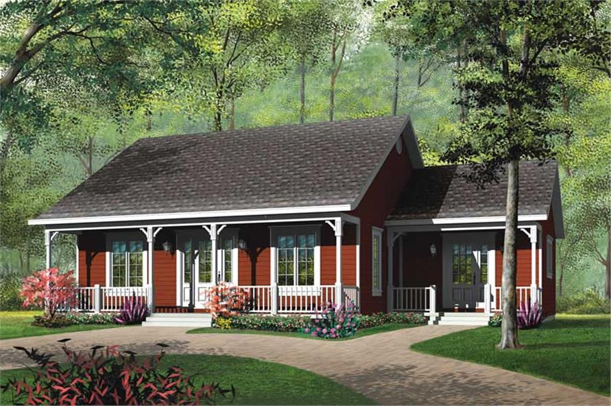 Main image for house plan # 12290