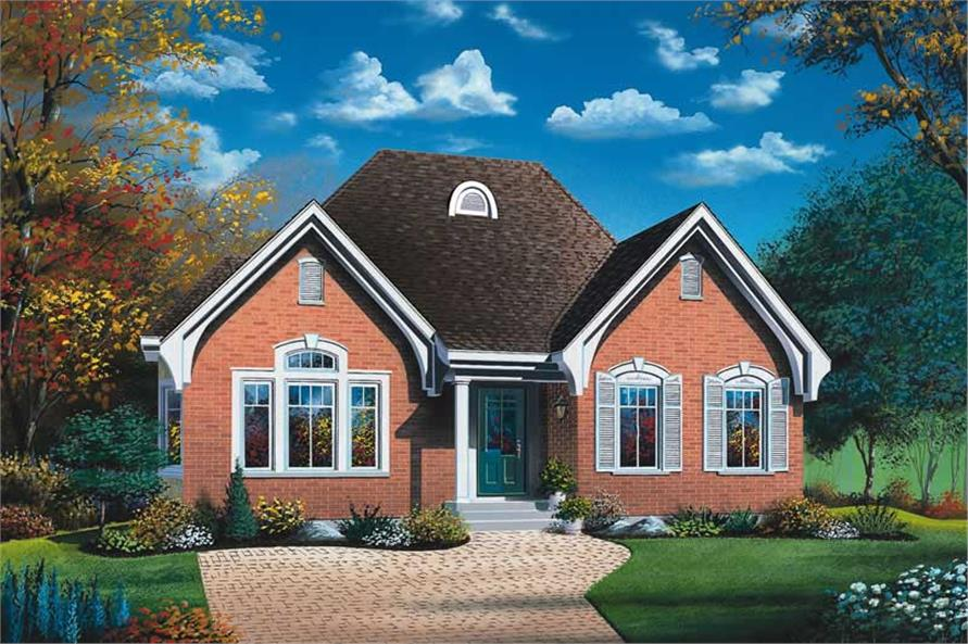 Main image for house plan # 12250