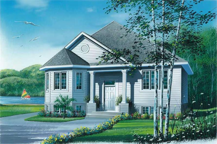 Main image for house plan # 12473