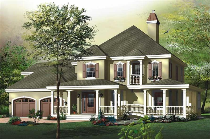 Main image for house plan # 11436