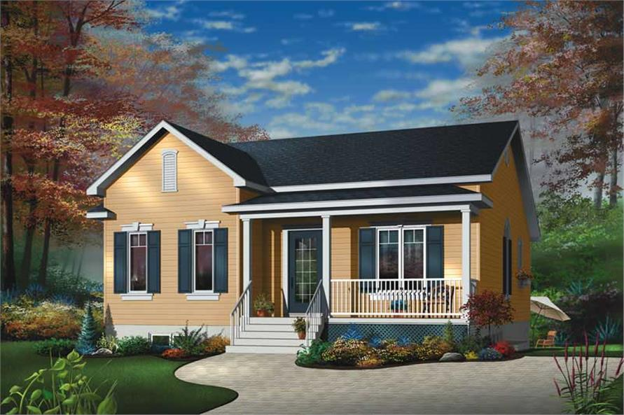 Main image for house plan # 12298