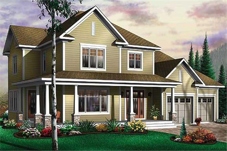 Main image for house plan # 11434