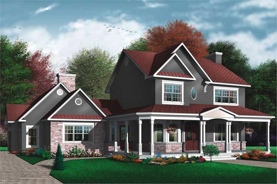 Main image for house plan # 11432