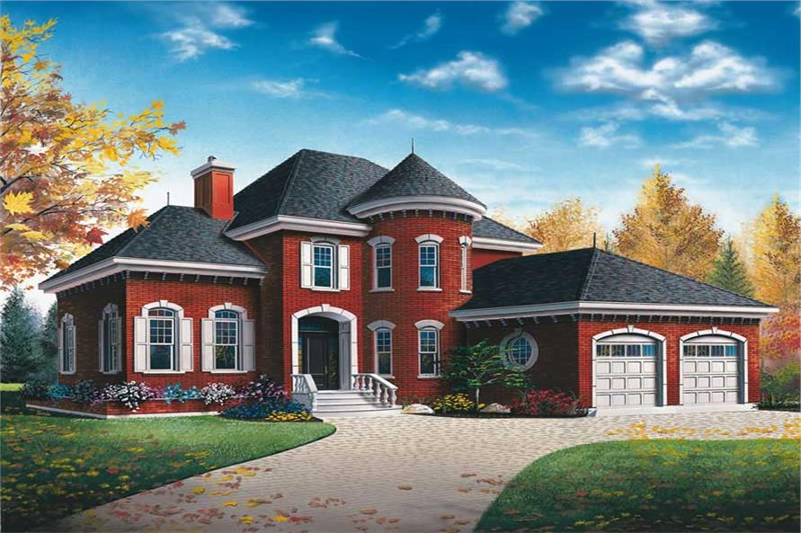 Main image for house plan # 11424