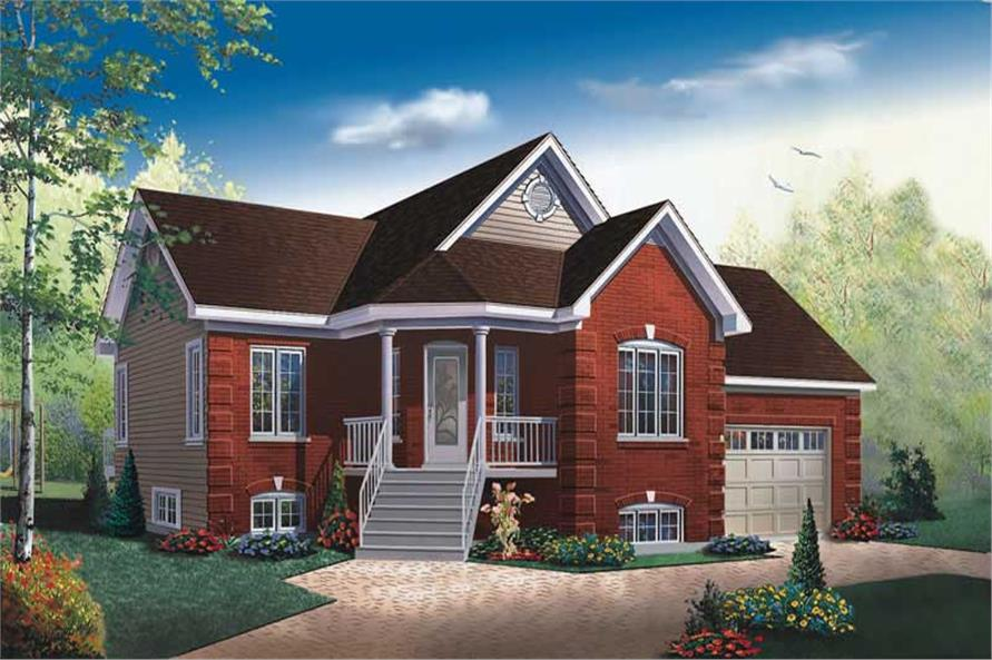 Main image for house plan # 13053