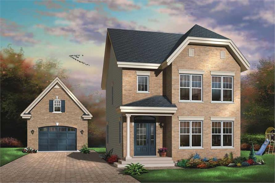 Main image for house plan # 11398