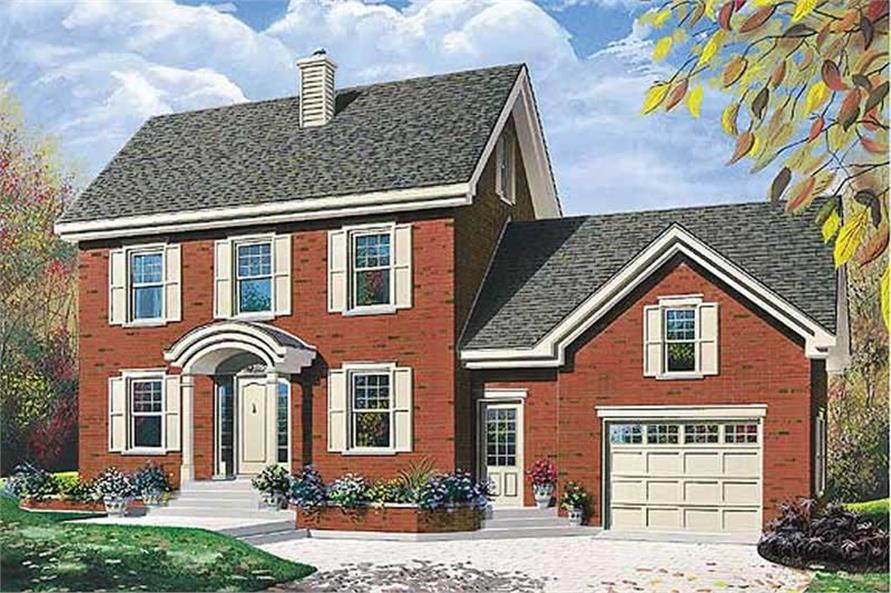 Main image for house plan # 11412