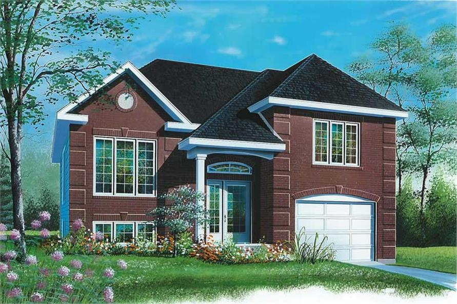 Main image for house plan # 12596
