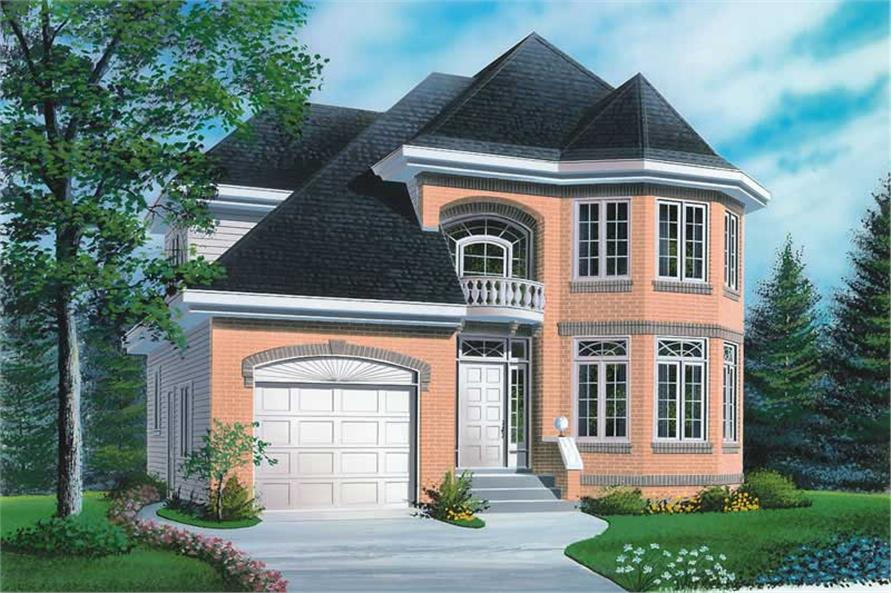 Main image for house plan # 12598