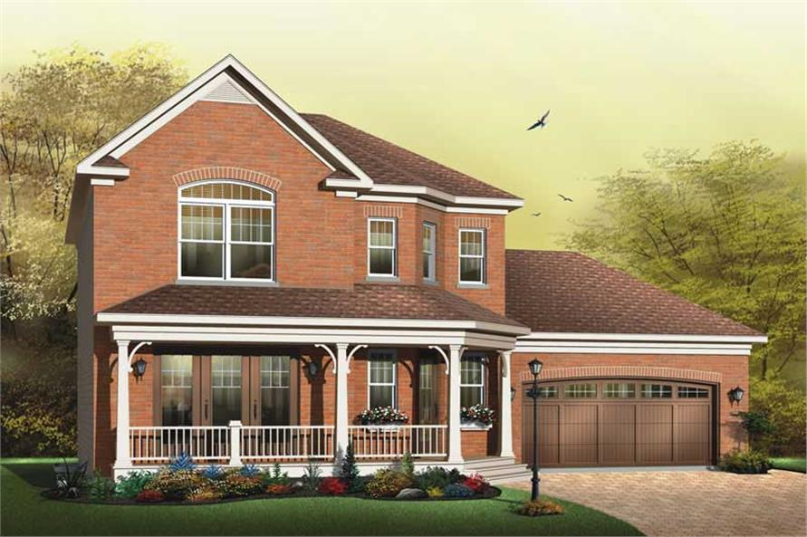 Main image for house plan # 11441