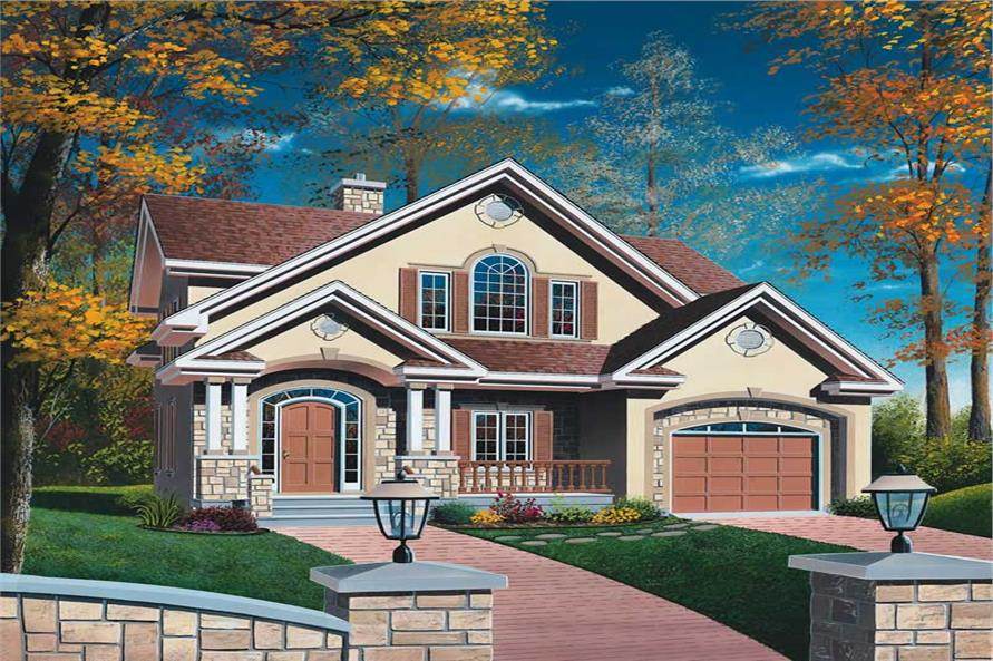 Main image for house plan # 12788