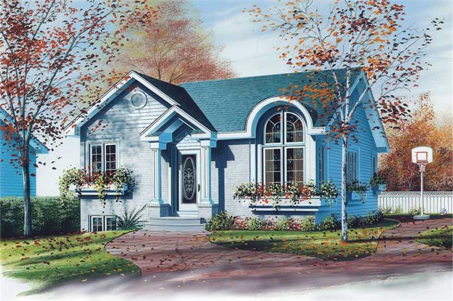 Main image for house plan # 12471