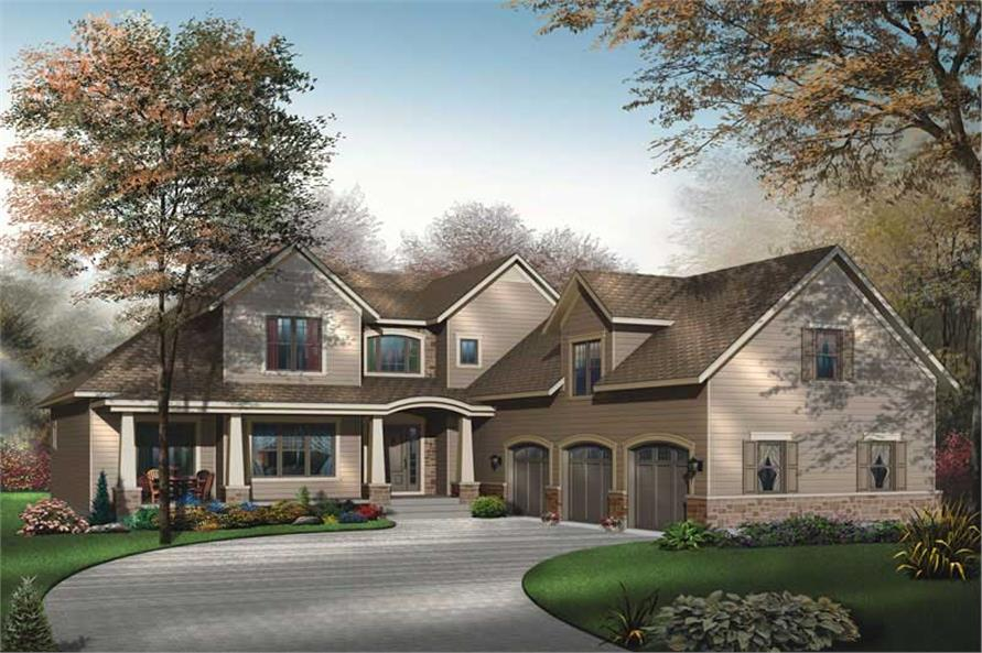 Main image for house plan # 11381