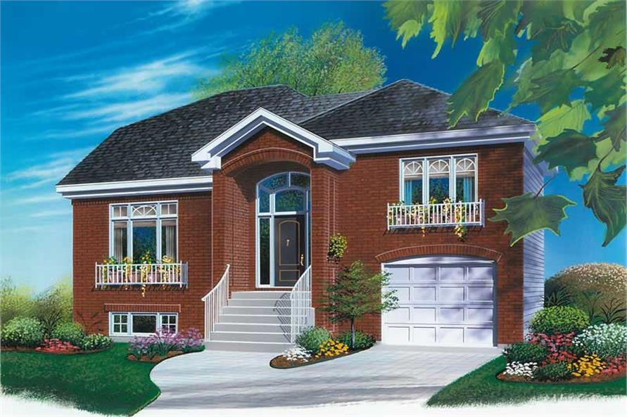 Main image for house plan # 12600