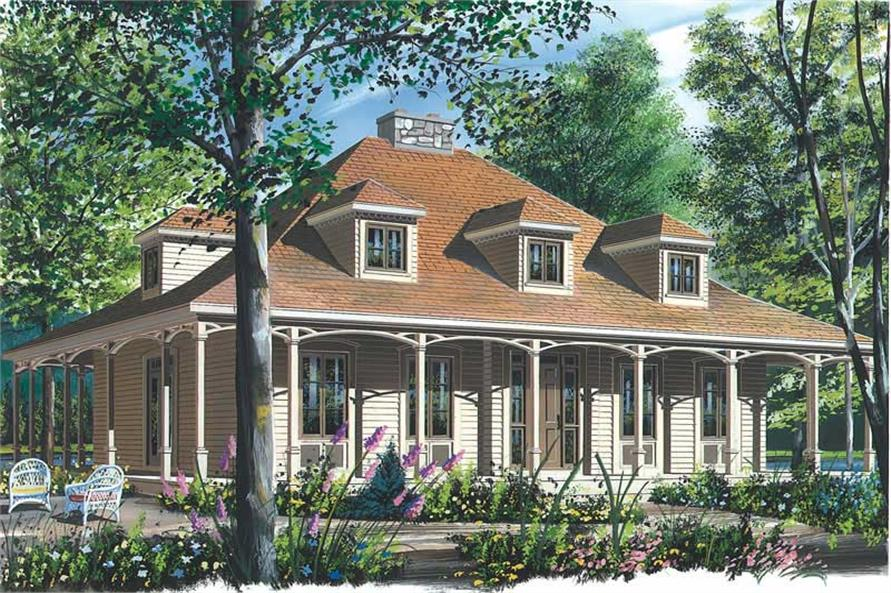 Main image for house plan # 12780