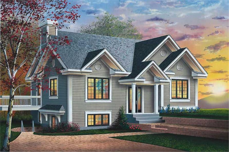 Main image for house plan # 12080