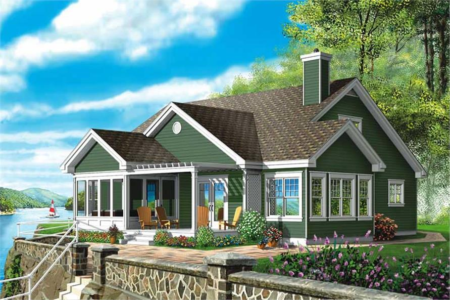 Main image for house plan # 12809