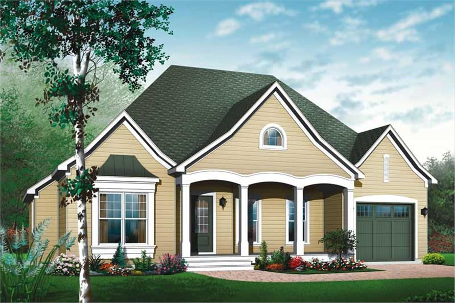 Main image for house plan # 11407
