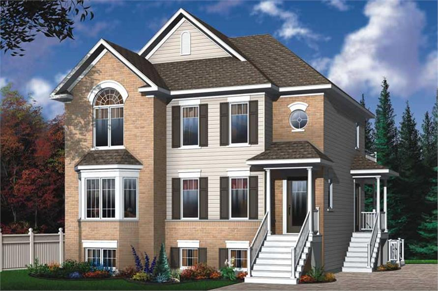 Main image for house plan # 11402