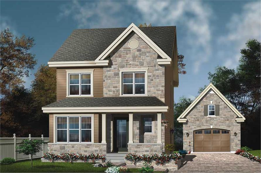 Main image for house plan # 11397