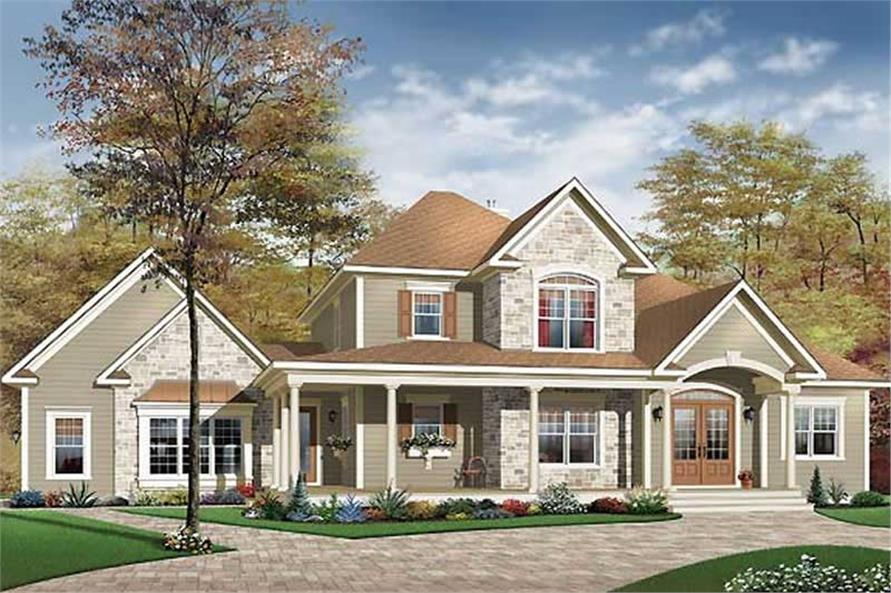Main image for house plan # 11387