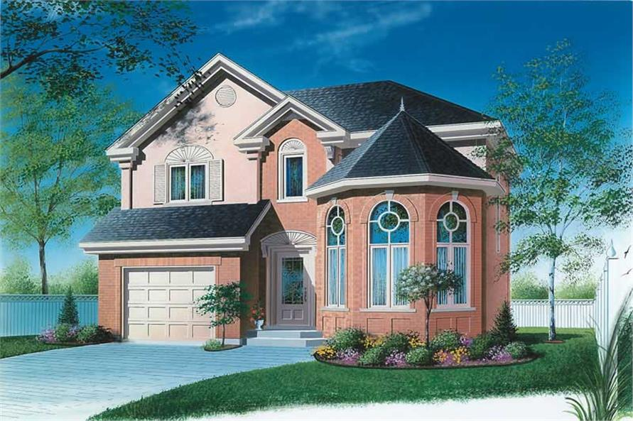 Main image for house plan # 12850