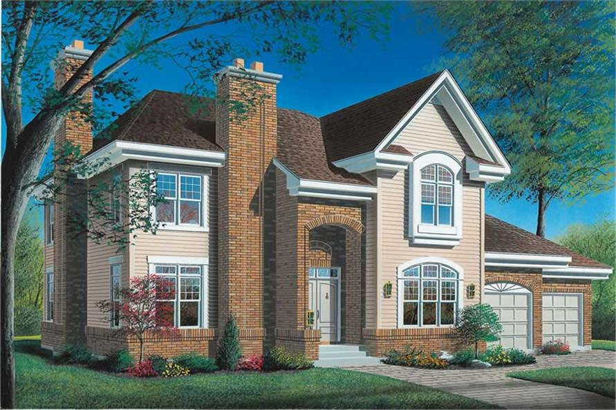 Main image for house plan # 12866