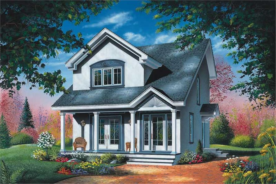 Main image for house plan # 12787