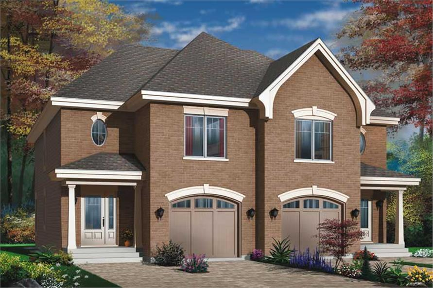 Main image for house plan # 11401
