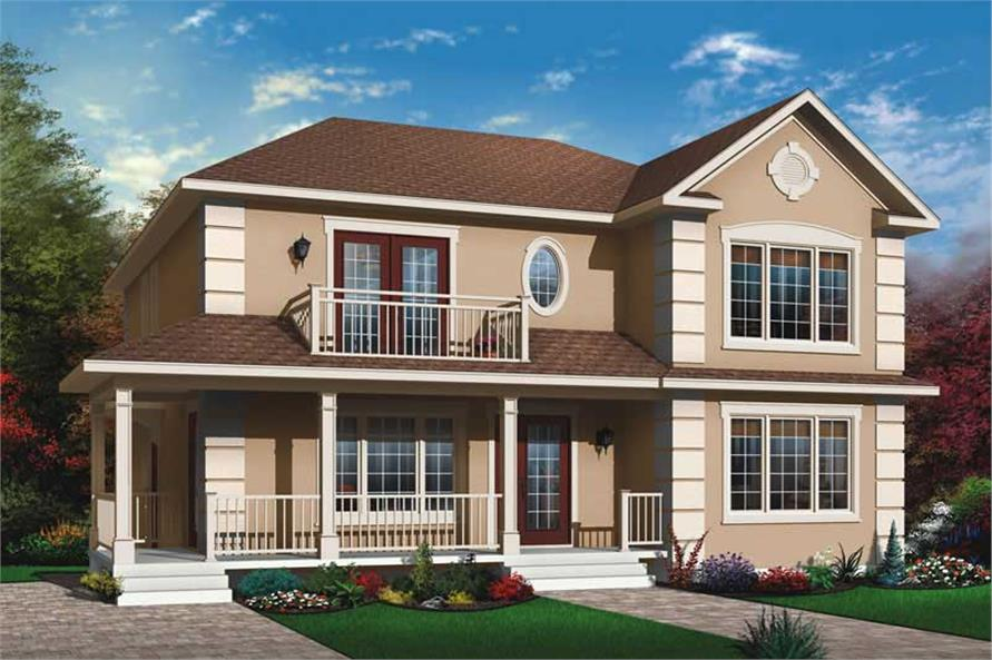 Main image for house plan # 11400