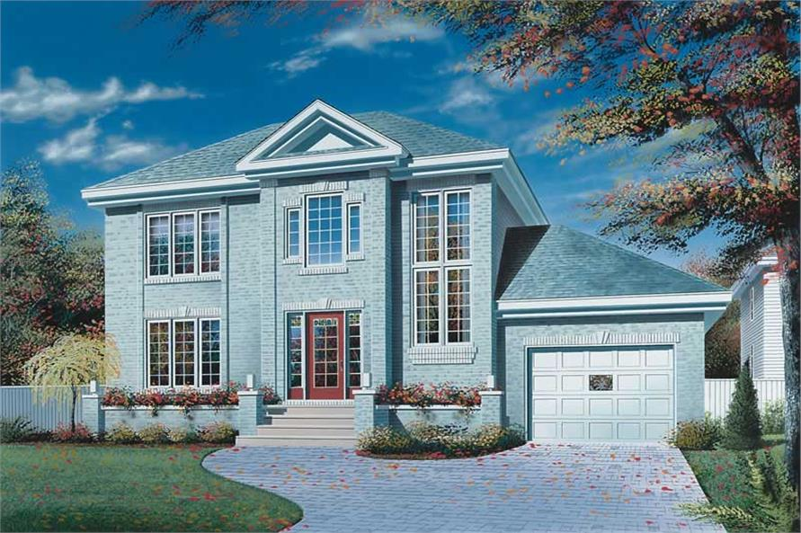 Main image for house plan # 12862