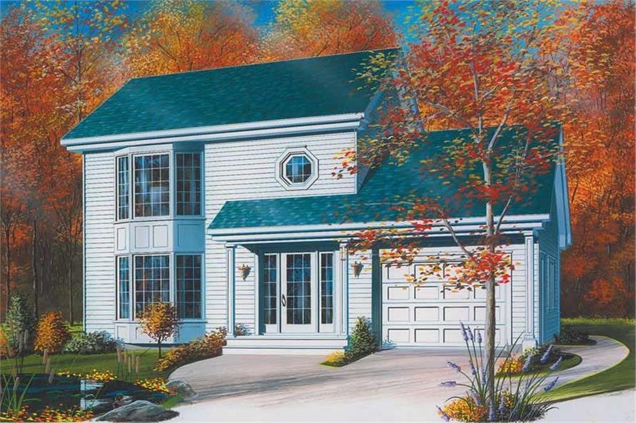 Main image for house plan # 12868