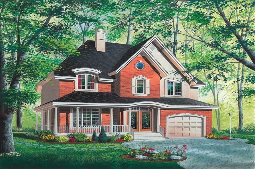 Main image for house plan # 12870