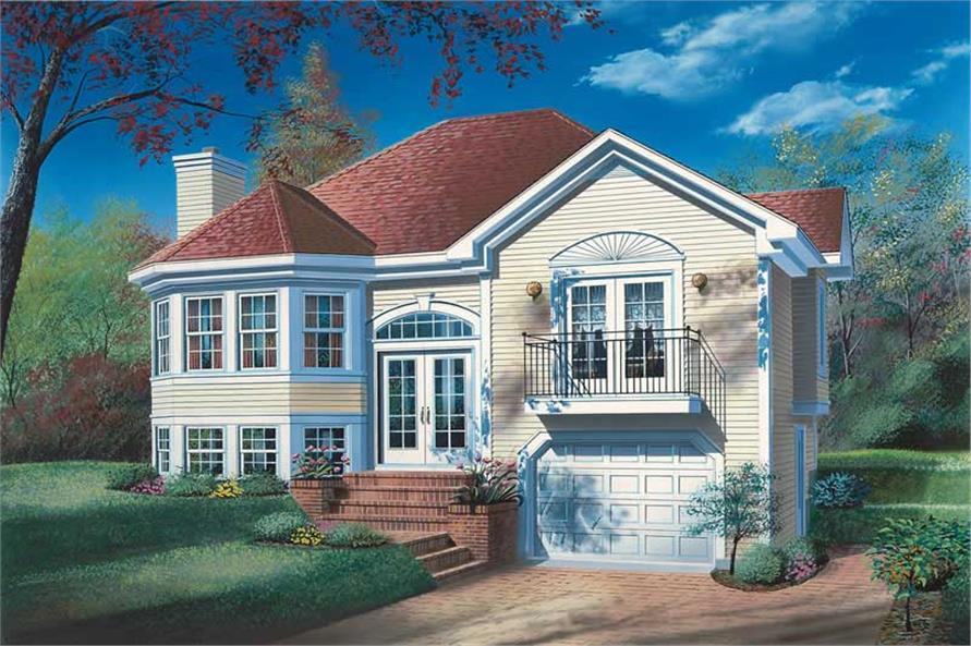 Main image for house plan # 12602